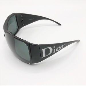 Christian Dior signature wrap around sunglasses